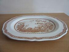 "Vintage Mason's Ironstone Quail Platter England 15.5"" #3"