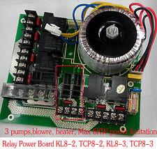 Key board of  ETHNK HOT TUB SPA CONTROL PACK - Main Relay Power Board KL8-2