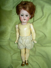 "Sweet antique bisque, 8"" Armand Marseille, Germany sockethead doll w/seleep eyes"