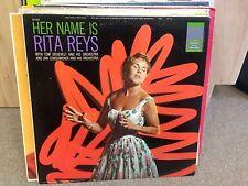 Rita Reys Her Name Is.. vinyl LP VG+ 1957 MONO