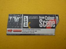 Ocean colour scene spain 1998 concert ticket entrada ç