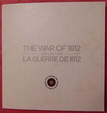 Proof Like 2012/2013 Canada War of 1812 25 Cents & 2 Dollars Plus New Folder