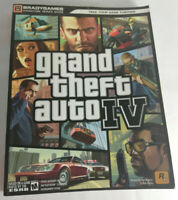 Grand Theft Auto 4 IV Signature Series Brady Games Strategy Guide Book gaming