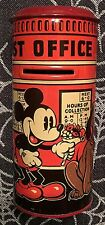 WALT DISNEY'S  MICKEY MOUSE  POST OFFICE  BANK  TIN LITHO  C. 1930'S  MINNIE