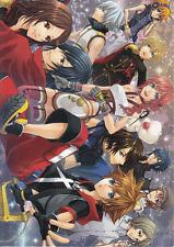 Final Fantasy 13 Xiii - 2 Type Zero Kingdom Hearts Doujinshi Comic Manga Quintet