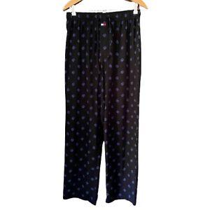 Tommy Hilfiger Mens Pajama Pants Sleep Bottoms Sleepwear- T H Logo- Size Medium