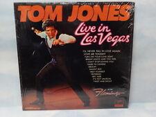 Tom Jones Live in las Vegas at the Flamingo Stereo record PAS 71031 NM conditon