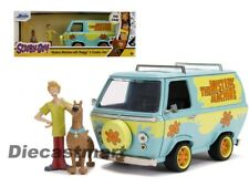 Jada 1 24 Hollywood Rides Scooby-doo Mystery Machines With Figures 31720 Green