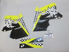 Suzuki RM125 RM250 2001-2010 One Industries Checkers graphics kit 1G45