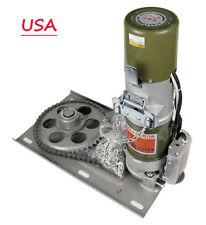 110v 600kg Ac Rolling Door Electric Garage Door Shutter Control Side Motor Hot!