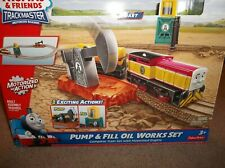 Thomas & Friends Trackmaster Pump & Fill Oil Works Train Set 100% Complete