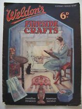 WELDON'S FIRESIDE CRAFTS Sixpenny Series No. 147 - 1930's Magazine