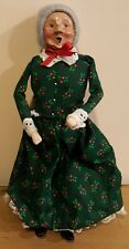 Byers choice The Carolers 1992 Sitter Mrs. Clause