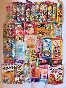 Japanese candy DAGASHI snacks foods 50pcs OSAKA set box for seasonal gift