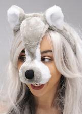 Wolf Mask On Headband