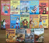 Lot 14 Beverly Cleary Henry Huggins &  Ramona  Series Chapter books