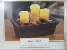 NEW Waverly Celebrations LED Indoor Table Decorative Candle Fountain