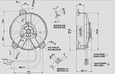 Spal Lüfter Hochleistungslüfter 144mm 580 cbm/h blasend VA31-A101-46S
