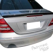 Carbon Fiber Mercedes-Benz W203 C-Class 4DR Sedan A Type Rear Trunk Spoiler