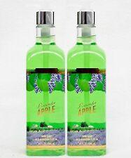 2 Bath & Body Works LAVENDER APPLE Nourishing Hand Soap Moisturizing Olive Oil