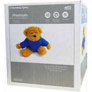 Poly Fill Stuffing Toys Fiber Bag Premium Filler Pillow Craft Home Box 5 lbs