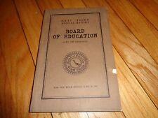 Annual Report Board of Education Chicago 1907 School History High School