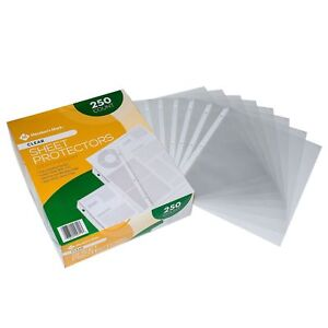 Members Mark Clear Poly Document Sheet Protectors 1000 ct. use w/ 3 Ring Binders
