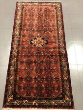 Vintage Traditional Persian Tribal Handmade Hamedan Runner Carpet Rug 170X81 Cm