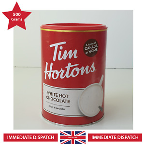 🍁 Tim Hortons White Hot Chocolate 🌟 Exclusive LARGE - 500g 🌟