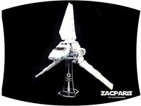 DISPLAY STAND for Star Wars Lego 75094 Imperial Shuttle Tydirium - Clear acrylic