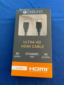 HDMI CABLE - v2.1 - 2.0 METRE
