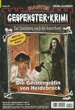 GESPENSTER-KRIMI Nr. 22 - Die Geistergräfin von Heidebrock - Julia Conrad - NEU