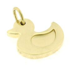 Authentic Tiffany & Co. 18K Yellow Gold Lucky Ducky Petite Duck Charm Pendant