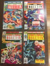 Marvel 1976 Eternals lot 1-3 + 11 in very high grade