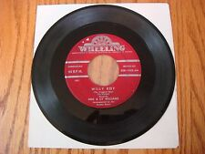 Vintage 45 RPM Doc and Cy Williams Silver Bell & Willy Boy