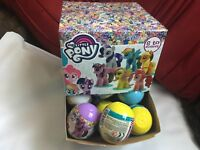 5 x MY LITTLE PONY MLP 3D FIGURES BLIND PACKS CAPSULES NEW SEALED