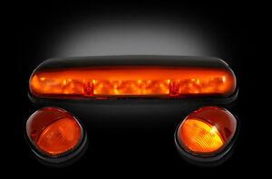Recon Amber Cab Light Kit LED 2002-2007 Silverado/Sierra 2500/3500 264155AM