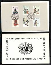 UNICEF, CHILD SURVIVAL CAMPAIGN ON UNITED NATIONS 1985, 3 ADMINISTRATIONS FOLDER