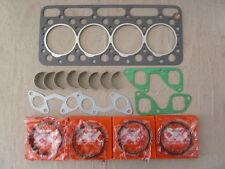 Bobcat 743 Head Gasket +Exhaust&Inlet Gasket + 4 Piston Rings +Conrod Bearings