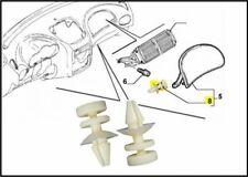 Coppia mollette airbag Alfa Romeo 147 2003-2010 3.2 GTA perni lato dx ORIGINALI