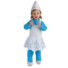 SMURFS SMURFETTE INFANT HALLOWEEN COSTUME SET (2pc) ~ Party Supplies Romper Blue