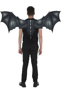 Zac's Alter Ego Very Large Black Bat/ Dragon Wings (1m x 0.5m)