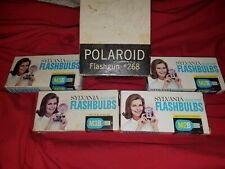 POLAROID FLASHGUN 268 IN THE ORIGINAL BOX, Instructions and more Made in U.S.A.
