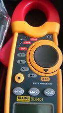 Di-Log DL6401 Digital & Multifunction 30mm Clamp Meter - AC/DC, Ohm, Volt, Diode