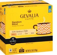 Gevalia Kaffe Signature Blend 100% Arabica Mild Coffee K-Cups Keurig Hot