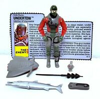 Gi joe undertow 1990 Vintage Hasbro Action Figure