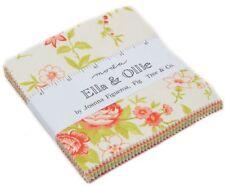 "Ella & Ollie Moda Charm Pack 42 100% Cotton 5"" Precut Fabric Quilt Squares"