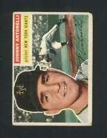 1956 Topps #138 Johnny Antonelli VG/VGEX NY Giants 94618