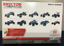 Erector by Meccano Rally Racer 10-in-1 Building Kit STEAM Education Toy for 8+