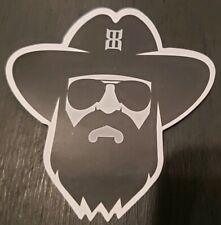Bex 3x3 Long Beard Logo Decal Sticker Vinyl Cling Brand New Free Shipping
